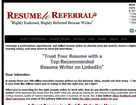 Resume writing services bay area When your résumé has done