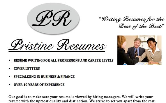 Resume writing services in toronto writer who you have direct