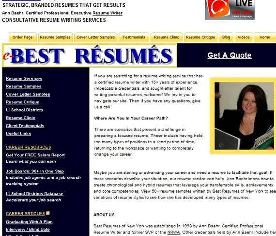 Reviews on resume writing services