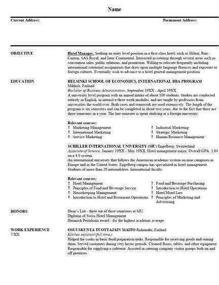 Information support specialist resume