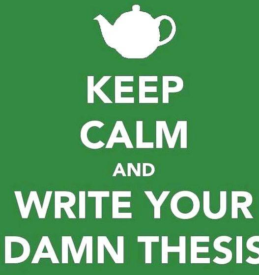 Right place wrong face thesis writing Avoid announcing the thesis