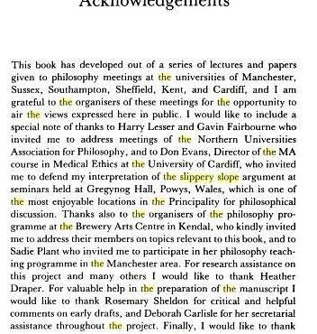 Sample acknowledgment page for thesis writing in the lab that