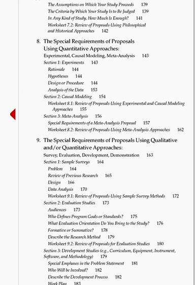 Sample contents page dissertation proposal Introduction              this section