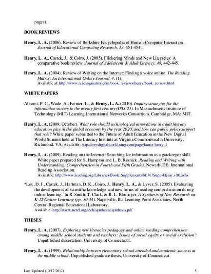 Masters thesis citation