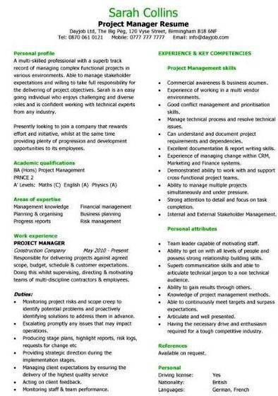Sample on thesis proposal+project management skills Show benefits to the