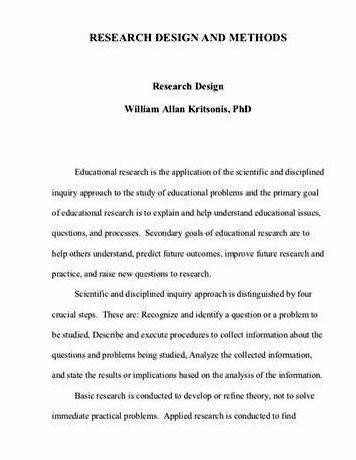 Sample research design+thesis proposal sample Explain here