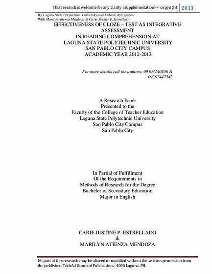 sample bachelor thesis proposal