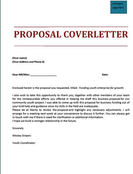 Sample transmittal letter for thesis proposal