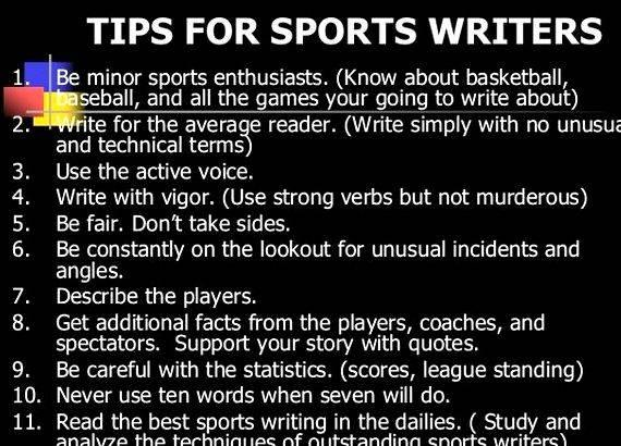 Sports writing basketball article for readers description of