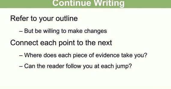 Standard article writing instructions assignment it, don