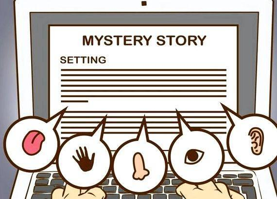 Story writing on mystery pi Describe what your character might
