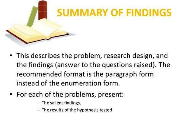 Summary of findings dissertation proposal that you appreciate the limitations