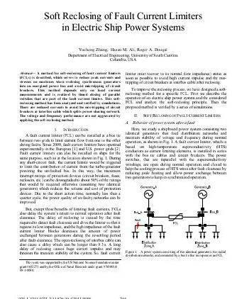 Superconducting fault current limiter thesis writing single, large, high-impedance transformer