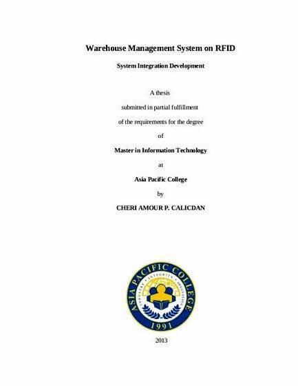 System analysis and design title proposal for thesis The thesis will be compiled