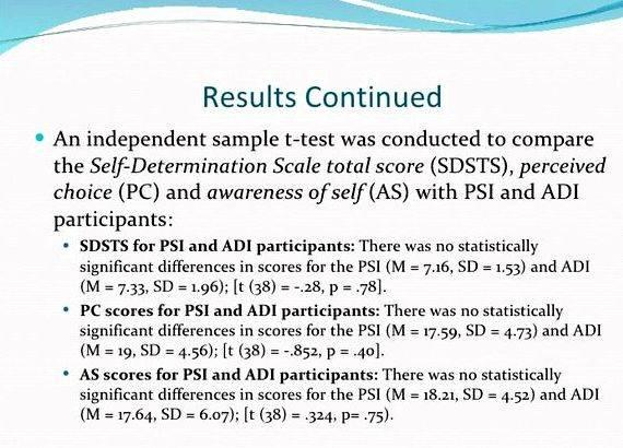 T test for thesis proposal including time table              describe in