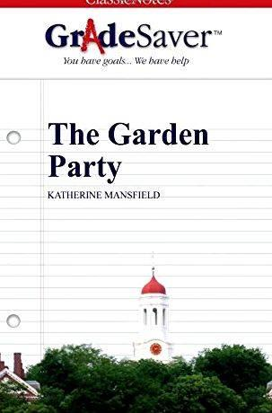 The garden party by katherine mansfield thesis proposal would be