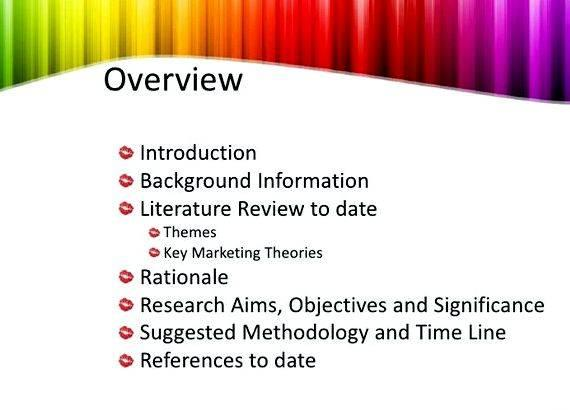 Thesis proposal defense presentation ppt overview The thesis must