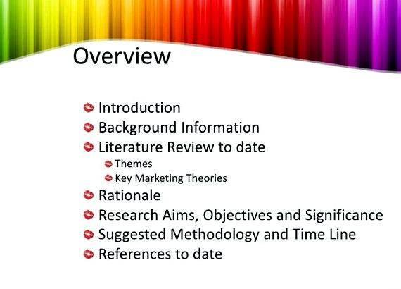 Dissertation proposal defense presentations