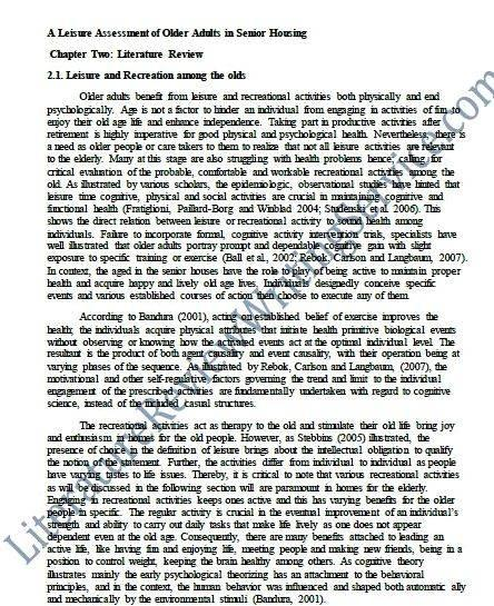Thesis proposal sample literature review come before to demonstrate