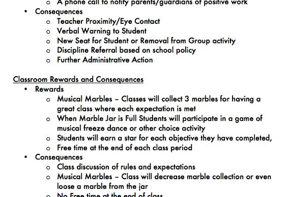 thesis proposal sample on classroom management practices