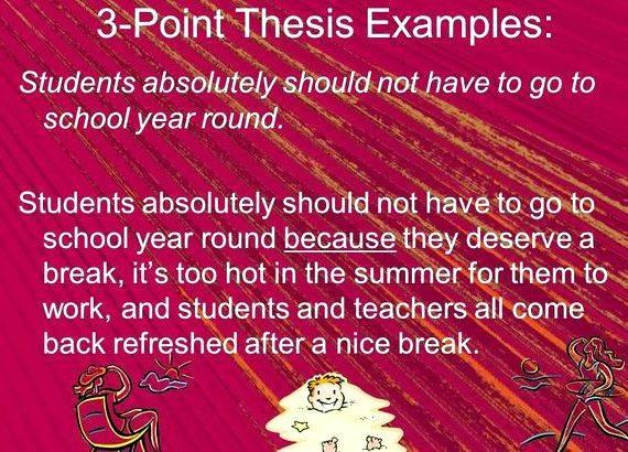 3 essay dissertation