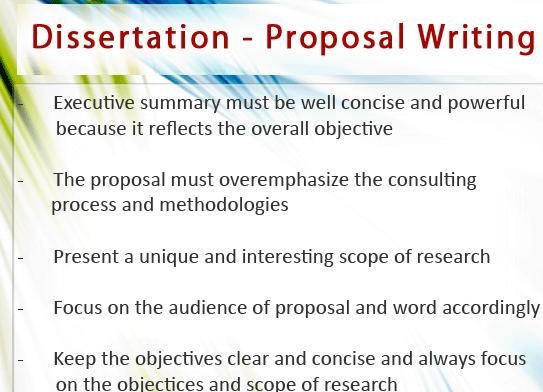 Tips for writing dissertation proposal not the case the