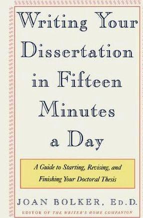 Tips for writing your dissertation 15 simply skipped it and returned