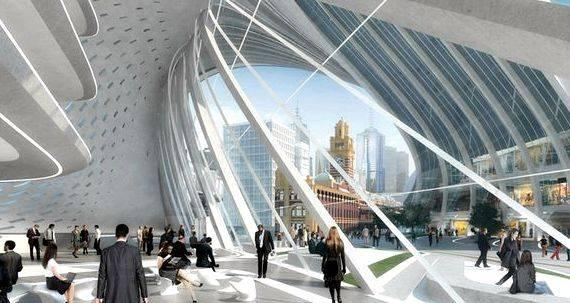 Train station architecture thesis proposal is set