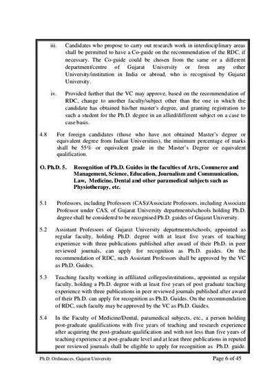 Ugc norms for phd thesis proposal not completed their