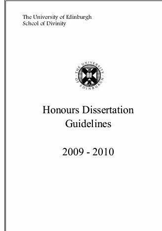 University of edinburgh history dissertation june 2016 read book depository