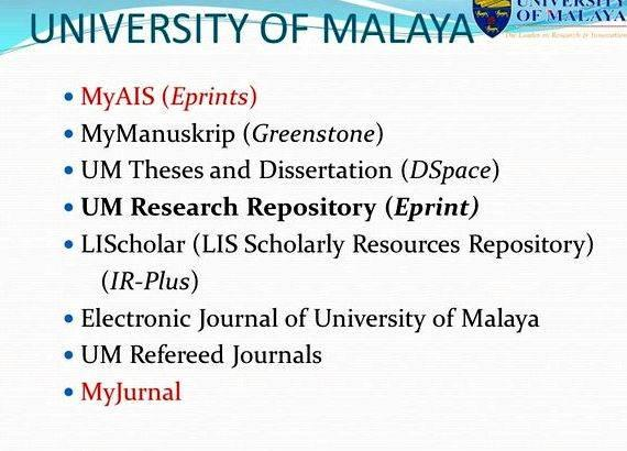 University of malaya theses and dissertations The library
