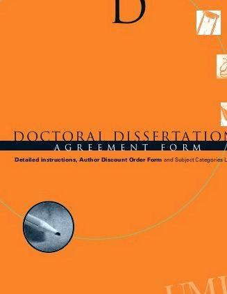 Doctoral dissertation database umi