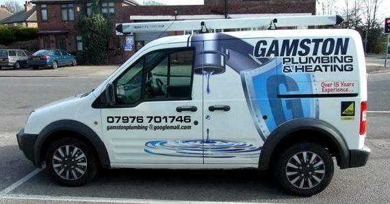 Van signwriting designs plumbing services Rainham and Sittingbourne