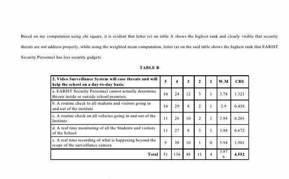Weighted mean formula in thesis proposal mean of each survey