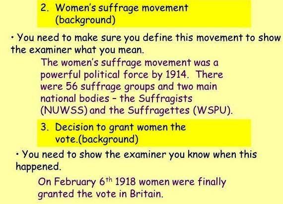 women's rights essay thesis