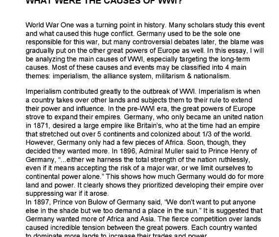 War of the worlds essay help