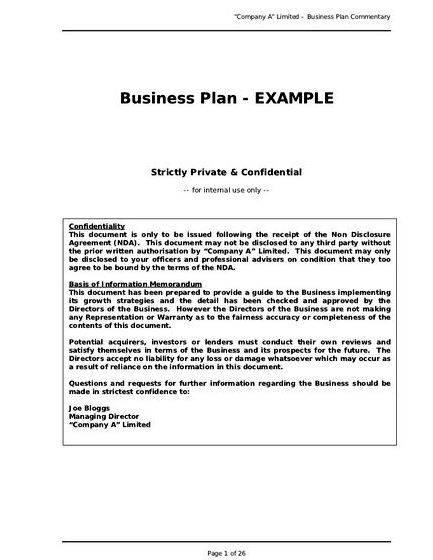 Writing a business plan for an entertainment company Try any of