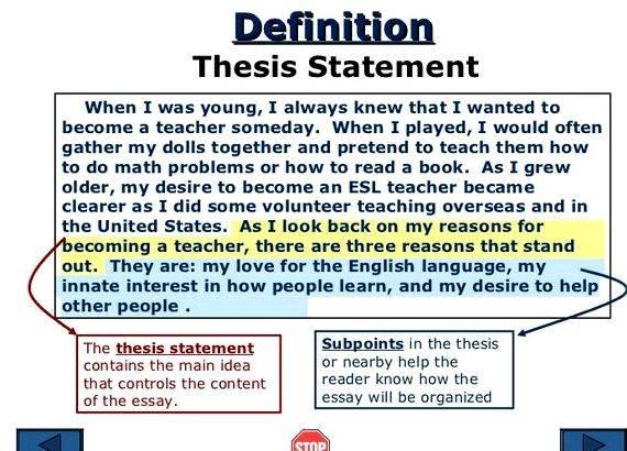 How to write a good masters thesis