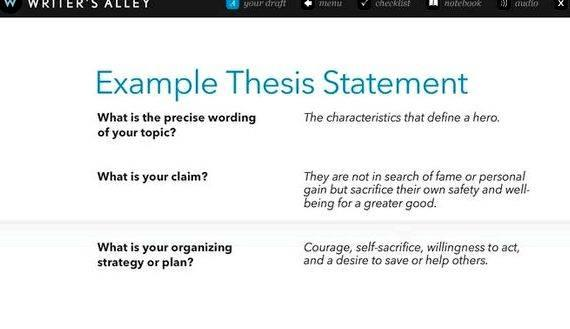 Writing a good research paper thesis the first paragraph