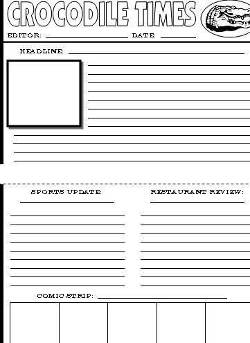 Writing a news article esl worksheet understand the structure of