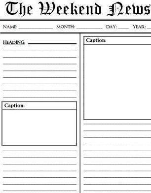 Writing a news article esl worksheet news story