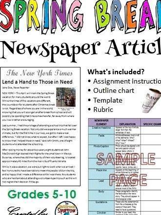 Help Writing A Newspaper Article Www Jmc Com Au