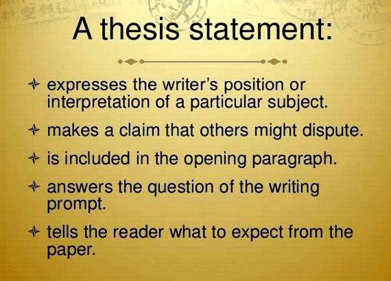 Writing a thesis for middle school essay online good thesis this