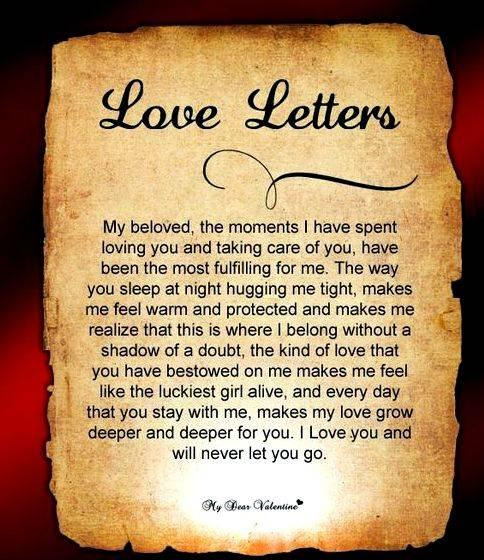 Writing An Apology Letter To My Husband