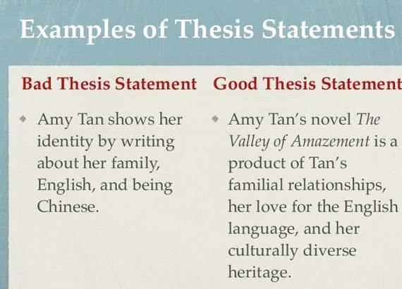 Writing an effective thesis introduction or story