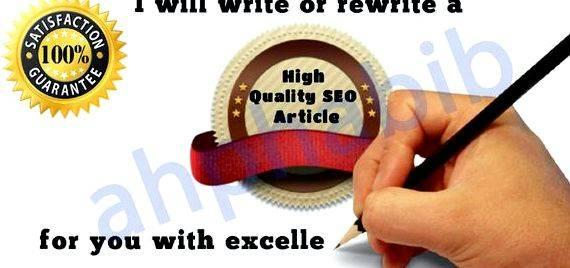 Writing articles for a living publish, you can