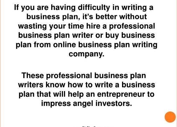 Writing business plan for angel investors clear in your plan