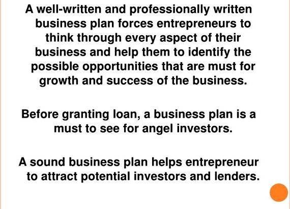 Writing business plan for angel investors However all are busy