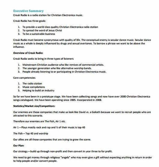 Writing business plan samples pdf your business