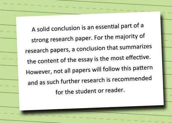 Writing conclusions for thesis papers to go beyond